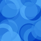 Blue circles Stock Images