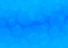 Blue circles. Abstract background Stock Photography