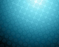 Blue circles abstract background Stock Photos