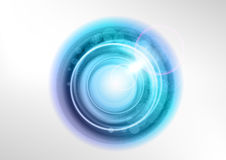 Blue circles Stock Photography