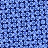 Blue circles background. Stock Photography