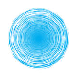 Blue circles vector illustration
