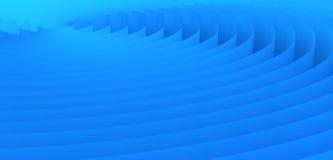 Blue circles Stock Image