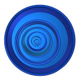 Blue circles. Royalty Free Stock Photography