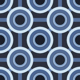 Blue CIrcles Pattern stock photo