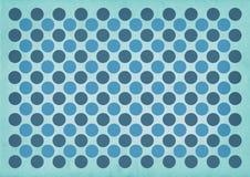 Blue circles retro pattern background Royalty Free Stock Photos
