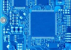 Blue Circuit Board Stock Photos