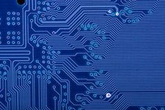 blue circuit board stock photo image of monitor, path 6468672