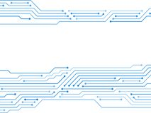 Free Blue Circuit Board Or Motherboard Texture Vector Royalty Free Stock Images - 137248619