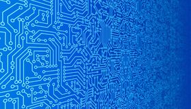Free Blue Circuit Board Pattern Texture. High-tech Background In Digital Computer Technology Concept. 3d Abstract Illustration. Royalty Free Stock Photo - 125220375