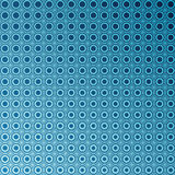 Blue circular abstract tiled background Royalty Free Stock Photo
