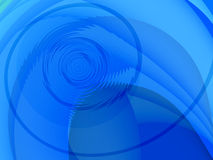 Blue circular background Royalty Free Stock Photography