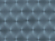 Blue circular brushed metal Stock Image