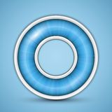 Blue circular progress bar Stock Photo