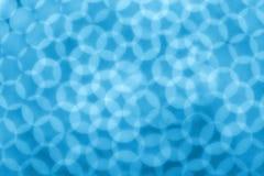 Blue circular reflections Royalty Free Stock Photo