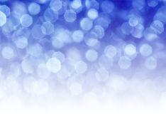 Blue circular reflections. Abstract background with blue and white Royalty Free Stock Images