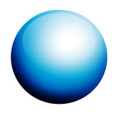 Blue circumference Royalty Free Stock Photography