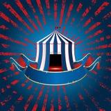 Blue circus burst vector illustration