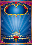 Blue circus night Royalty Free Stock Images