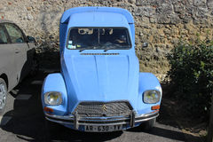 Blue Citroen Acadiane Stock Image