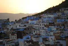 The blue city of Chefchaouen, Morocco Royalty Free Stock Image
