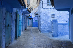 Blue city of Chefchaouen in Morocco Stock Photo