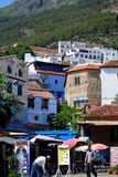 The blue city of Chefchaouen Stock Photos