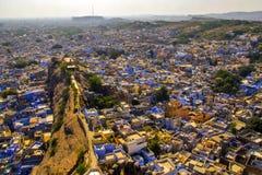 Blue city jodhpur aerial view