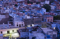 Blue city of Jodhpur, India Stock Photos