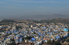 Blue city of Jodhpur Stock Photo
