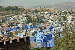 Blue city of Jodhpur Stock Images