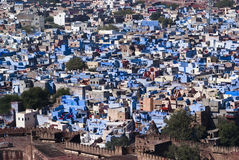 Blue city, Rajasthan, India Stock Photos