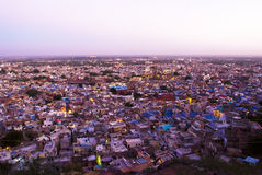 Blue city, Rajasthan, India Royalty Free Stock Photography