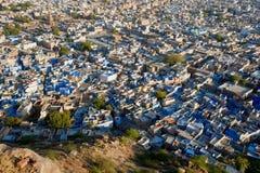 The blue city of Rajasthan Jodhpur royalty free stock photo
