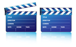 Blue clapboard Stock Photography