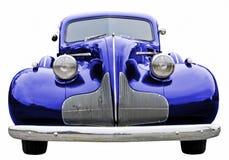Blue Classic Car Stock Image