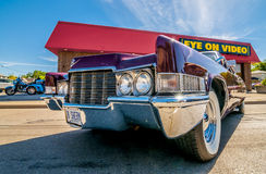 BLue classic car Stock Photography