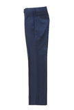 Blue classical trousers Stock Image