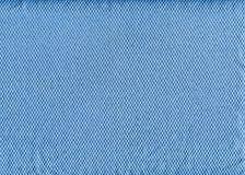 Blue clean fabric texture Stock Photography