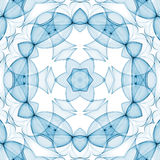 Blue clean pattern Stock Images