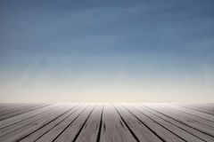 Blue and clean sky Royalty Free Stock Images