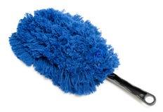 Blue cleaning brush Stock Photo