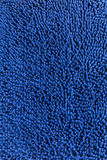 Blue cleaning doormat Stock Photos