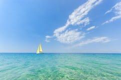 Blue clear sea Stock Photo