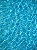 Blue clear water Stock Images