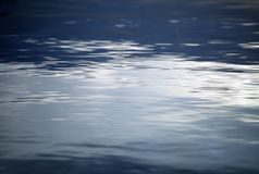 Blue Clear Water Background Royalty Free Stock Photos