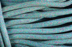 Blue Climbing Rope Stock Photography