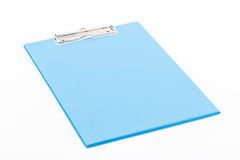 Blue clipboard. Stock Images