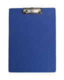 Blue clipboard Stock Image