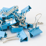 Blue clips Royalty Free Stock Photos